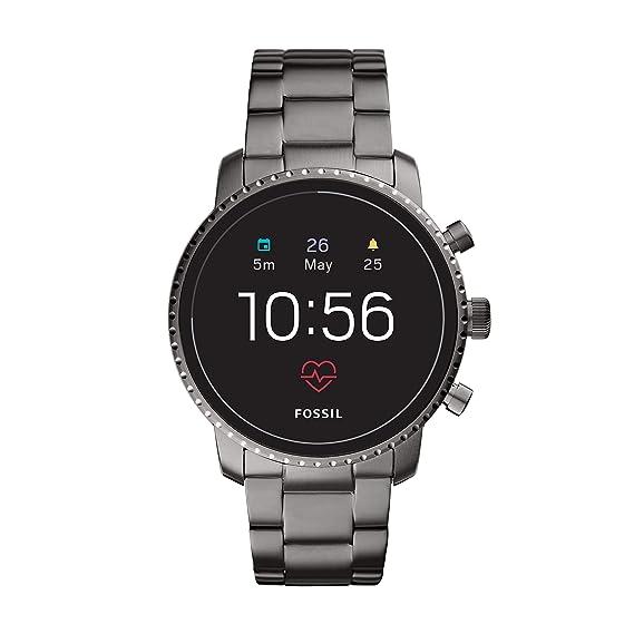 d289614d82c2 Gen 4 Fossil Smartwatch Explorist HR Gunmetal  Amazon.com.mx  Relojes