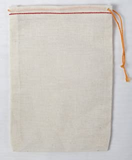 Amazon.com: Cotton Muslin Bags 3.25x5 Inch Double Drawstring 25 ...