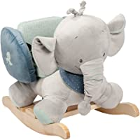 Nattou Jack The Elephant Rocker, Grey