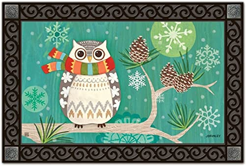 MagnetWorks MAIL11261 Winter Owl MatMate
