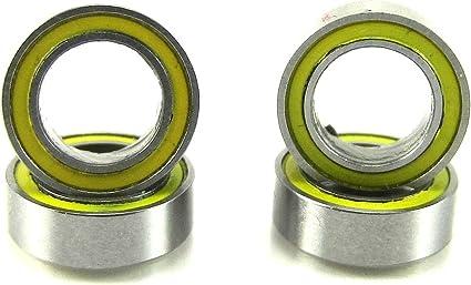 Rubber Sealed Ball Bearings Bearing Set FOR TRAXXAS T-MAXX Yellow T-MAXX 2.5