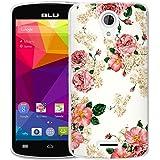 BLU Studio X8 HD Case, Harryshell(TM) Slim Tpu Gel Skin Flexible Soft Rubber Protective Case Cover for BLU Studio X8 HD S530X (B-3)