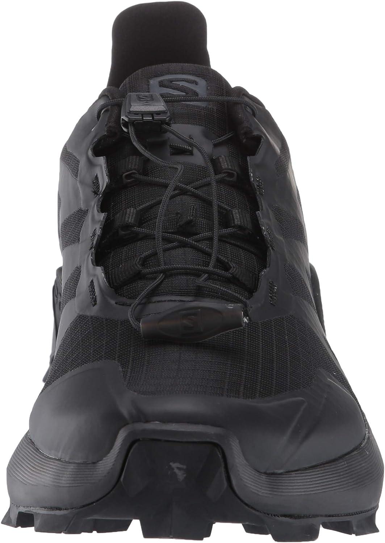 Salomon Men's Supercross Hiking Shoes Black/Black/Black