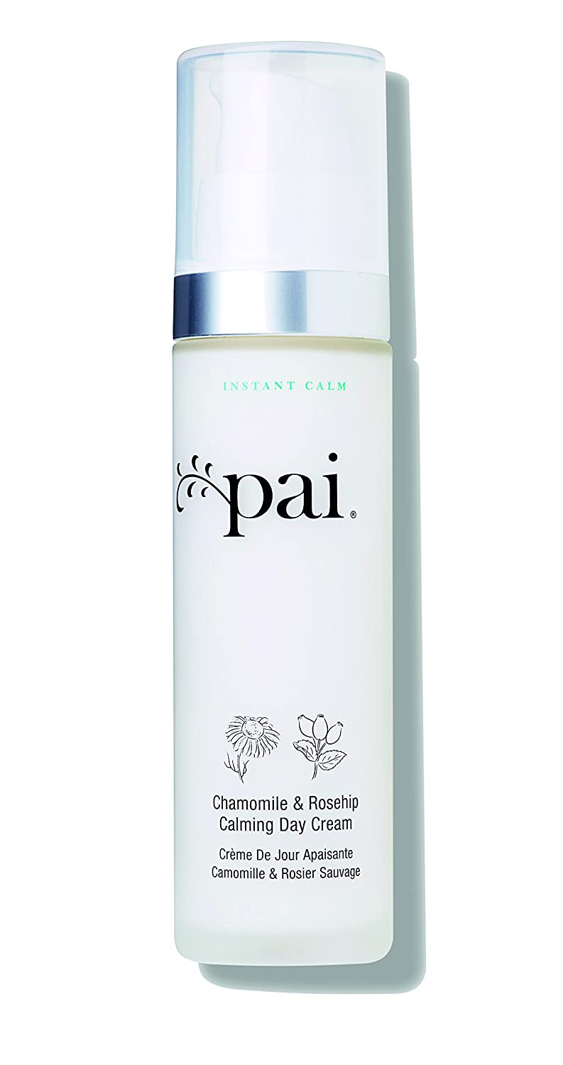 Pai Skincare Organic Chamomile & Rosehip Calming Day Cream and Anti-Redness Moisturizer for Hypersensitive Skin with CO2 Extracts 50 ml