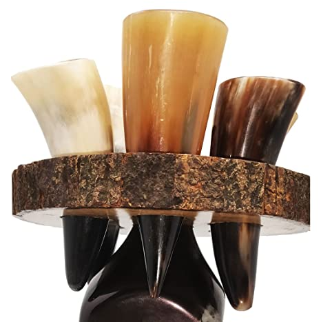 a8597382544 Image Unavailable. Image not available for. Color  BRANDED Buffalo Horn ...