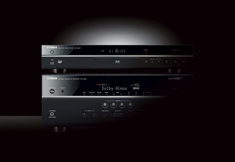 Yamaha BD-S681 Blu-ray-Player schwarz