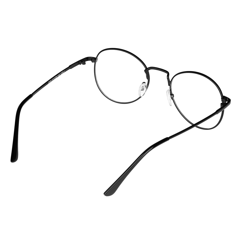 Forepin® Unisex Ovale Montatura Occhiali da Vista Occhio Frame Struttura Vetri Ottici Pianura rotonda vetro Plain completa-Rim Occhiali (Stile 2) 2v5D2cu1