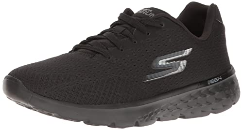 Skechers Damen Go Run 400 Outdoor Fitnessschuhe, BlackAqua