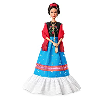 Barbie Inspiring Women Frida Kahlo Doll: Toys & Games