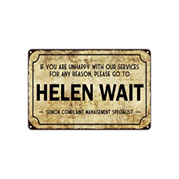 Amazon.com: Helen Wait Senior Complaint Management Specialist ...