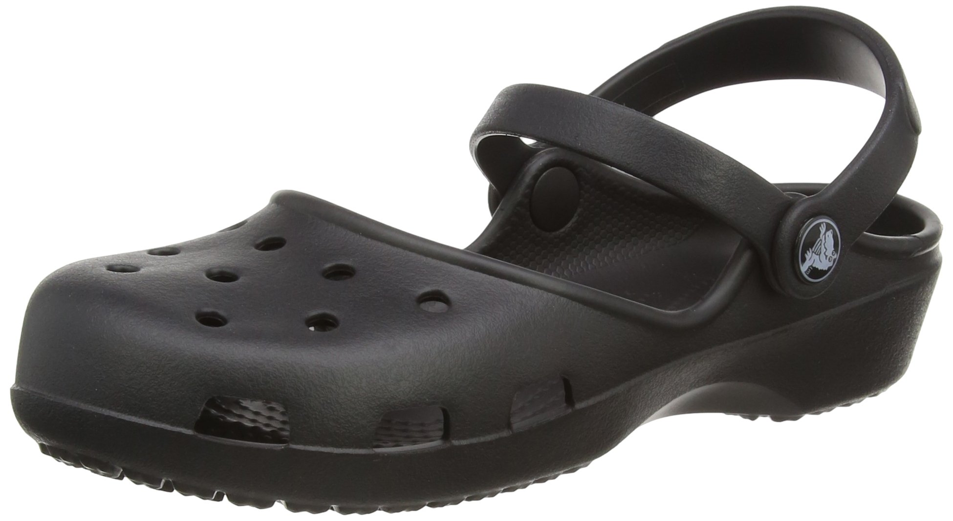 Crocs Women's Karin Clog, Black, 8 M US