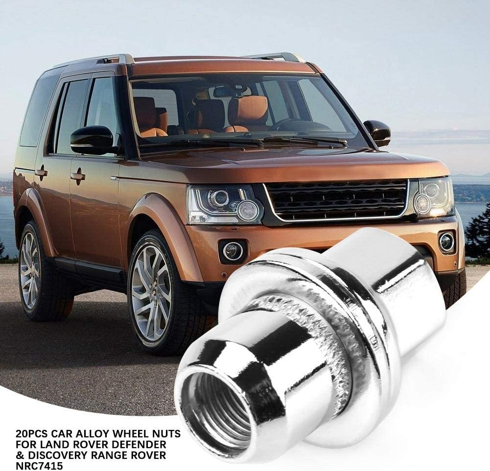 - NRC7415 20 LAND ROVER DEFENDER /& DISCOVERY 1 STANDARD ALLOY WHEEL NUTS