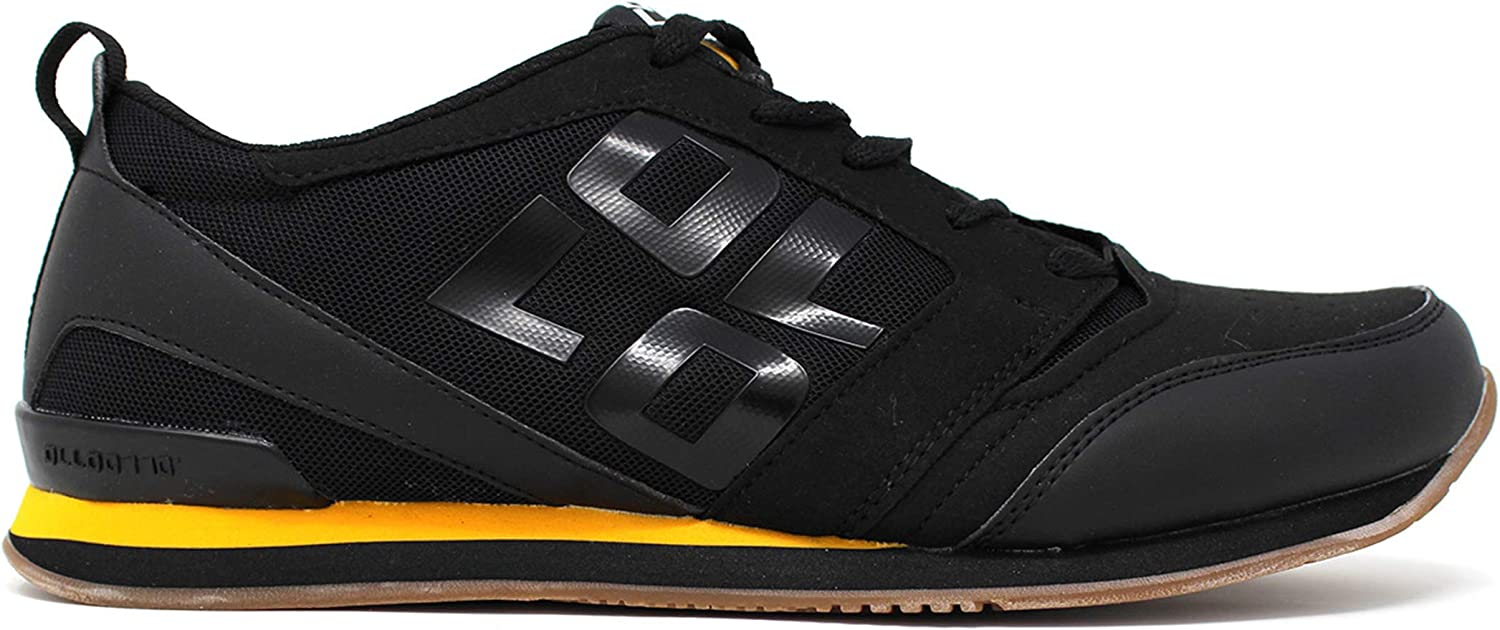 OLLO Sapien S - Raven GLT Gum - Black - Parkour and Freerunning Shoe - High Grip Sole Flexible Shoes - Best Shoe for Parkour, Freerunning, Ninja Training, and Obstacle Training…