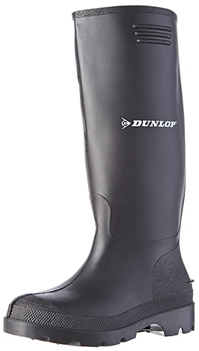 Dunlop BBB10, Botas de Agua Unisex Adultos, Negro (Black 002), 47 ...