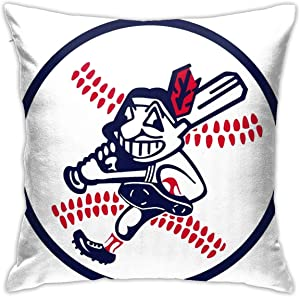Qq21-achieve-store Chief Wahoo Art Cute Pattern Pillow Covers, Car Sofa Home Decor, Room Decorations