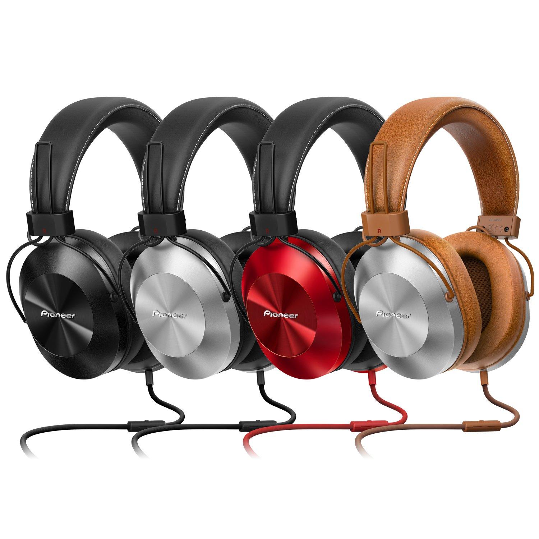 Pioneer SE-MS5T-K - Auriculares de tipo diadema (HiRes, power bass, micrófono, control de Smartphone), color negro: Amazon.es: Electrónica