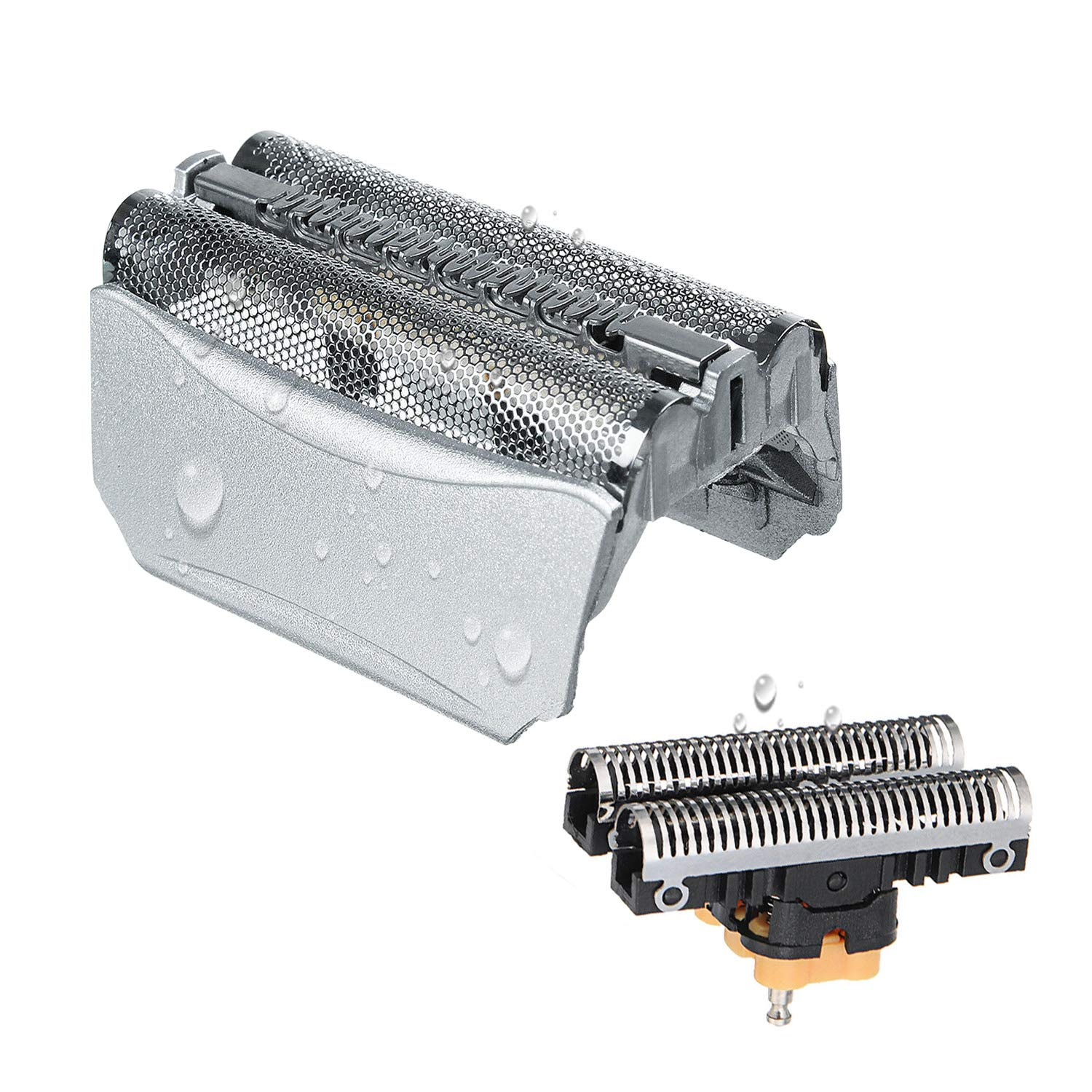 51S Foil & Cutter for Braun Shaver Replacement Part, Series 5 Shaver Replacement Foil and Cassette Cartridge Head Compatible with Braun 8000 Series 360 Complete Activator ContourPro