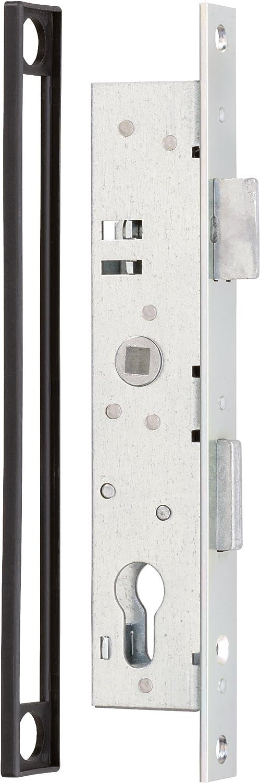 Abstand T/ür-Au/ßenkante Griff 40 mm Gah-Alberts 419035 T/ürdr/ücker ein Paar Griffbreite 107 Alu 5 mm