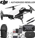 DJI Mavic Air Drone Quadcopter (Arctic White) Backpack Starters Bundle