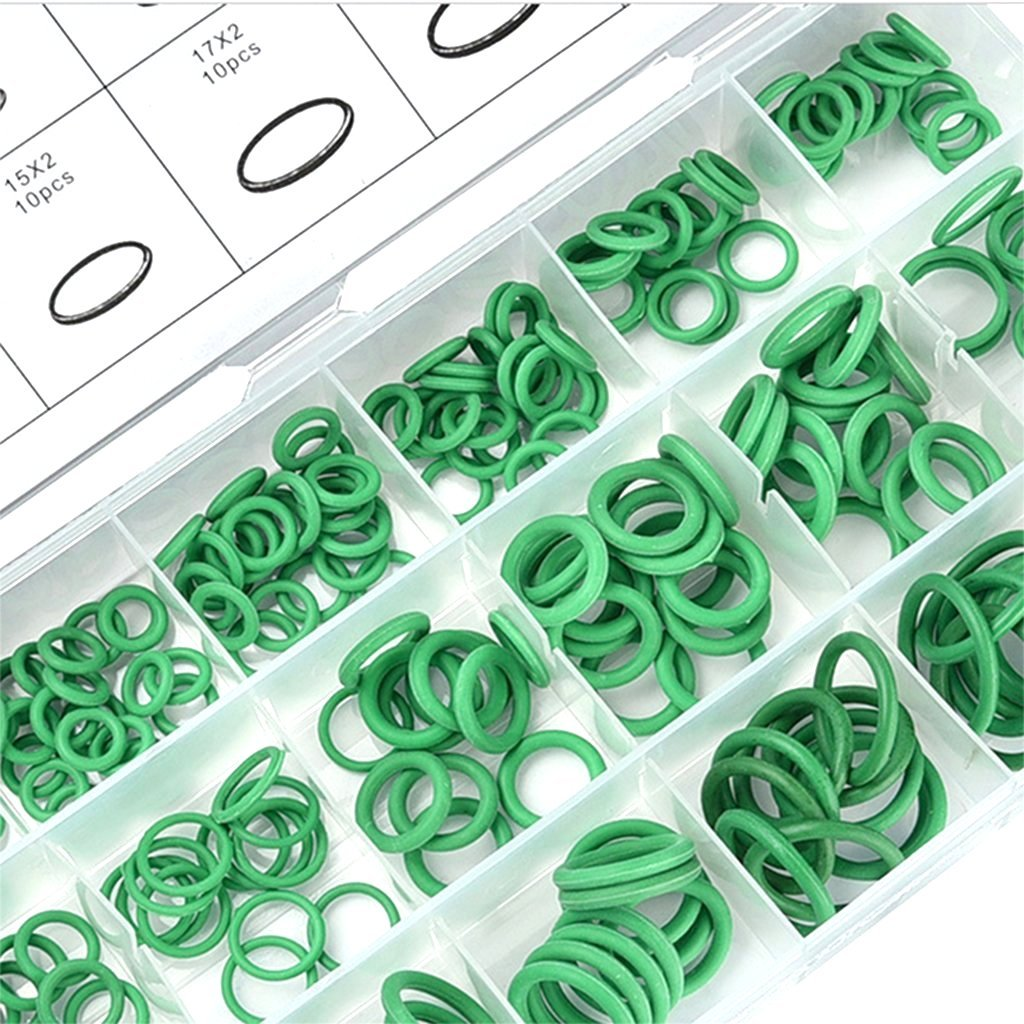 Kummert Business 270 Teiliges Set HNBR O-Ring Sortiment f/ür Klimaanlagen Dichtring Dichtung Temperaturst/ändig Sortiments Box