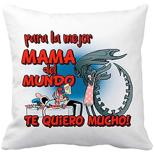 Diver Bebé Cojín con Relleno para la Mejor mamá del Mundo te ...
