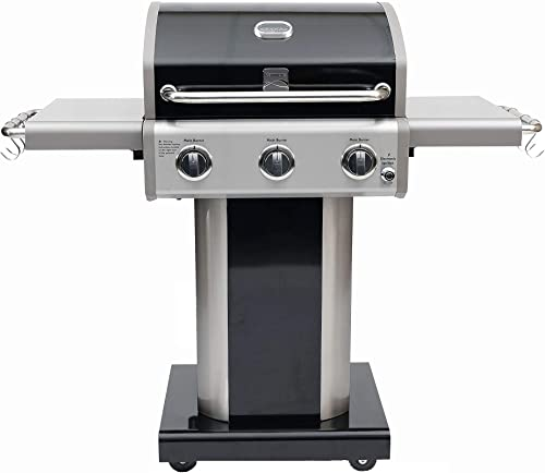 Kenmore PG-4030400LD-AM 3 Burner Outdoor Patio Gas Grill- Large Cooking Area