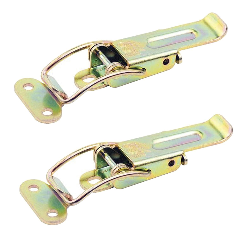 2 x Spannverschluss Catch #22 gelb verzinkt Tischverbinder Tischplattenverbinder von SO-TECH/®