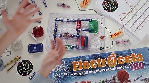 Cefa Toys 21820 Electrocefa 100 - Juego de electronica: Amazon.es: Juguetes y juegos