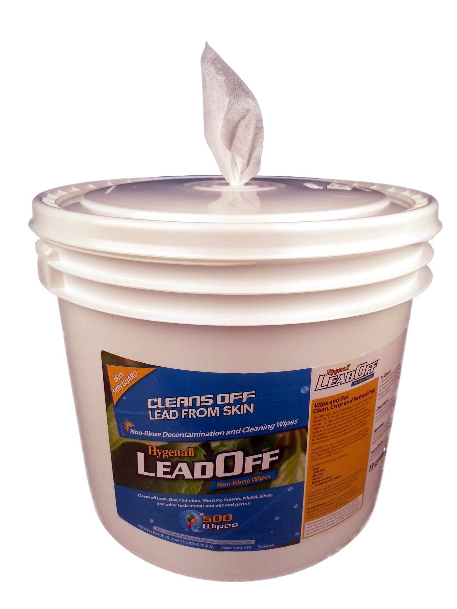Amazon Com Hygenall Leadoff Wipe Refills Item Lr910nrtb