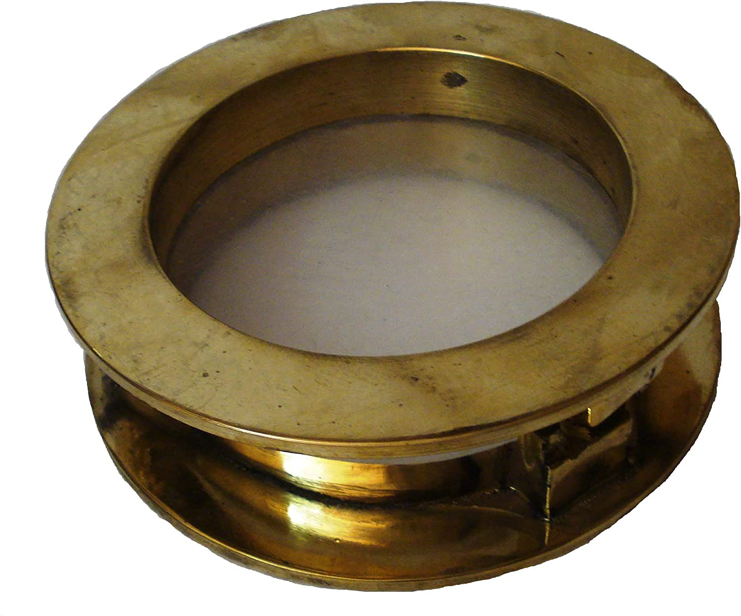 VINTAGE ship/'s BRASS PORT HOLE Window 11 INCHES OUTER Porthole