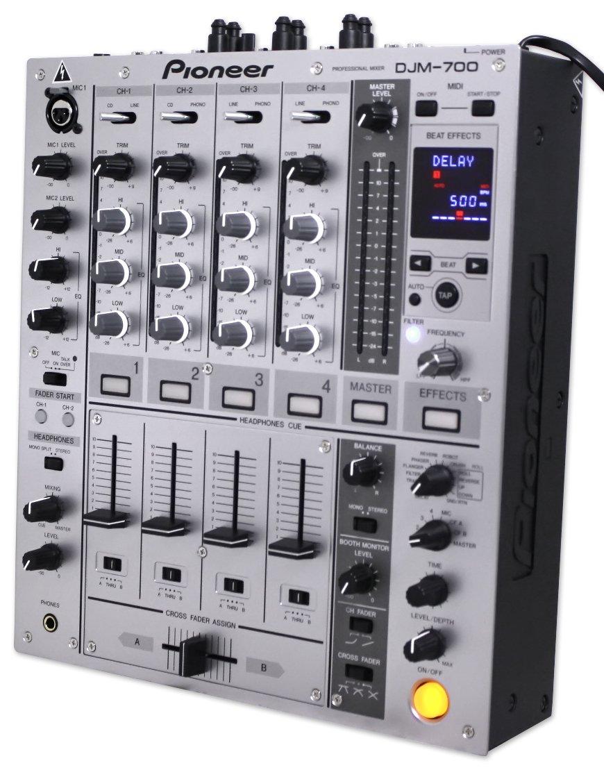 Pioneer DJミキサー シルバー DJM-700-S B0010YPAVY