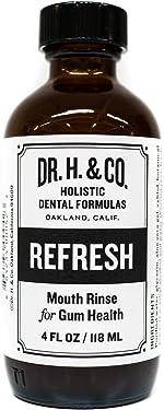 Dr. H. & Co. Dentist Formulated Refresh Mouthwash - All Natural