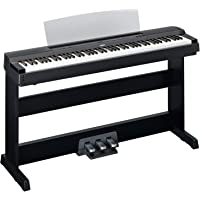Yamaha P255 88-Key Professional Weighted Action Digital Piano with Keyboard Stand and 3-
