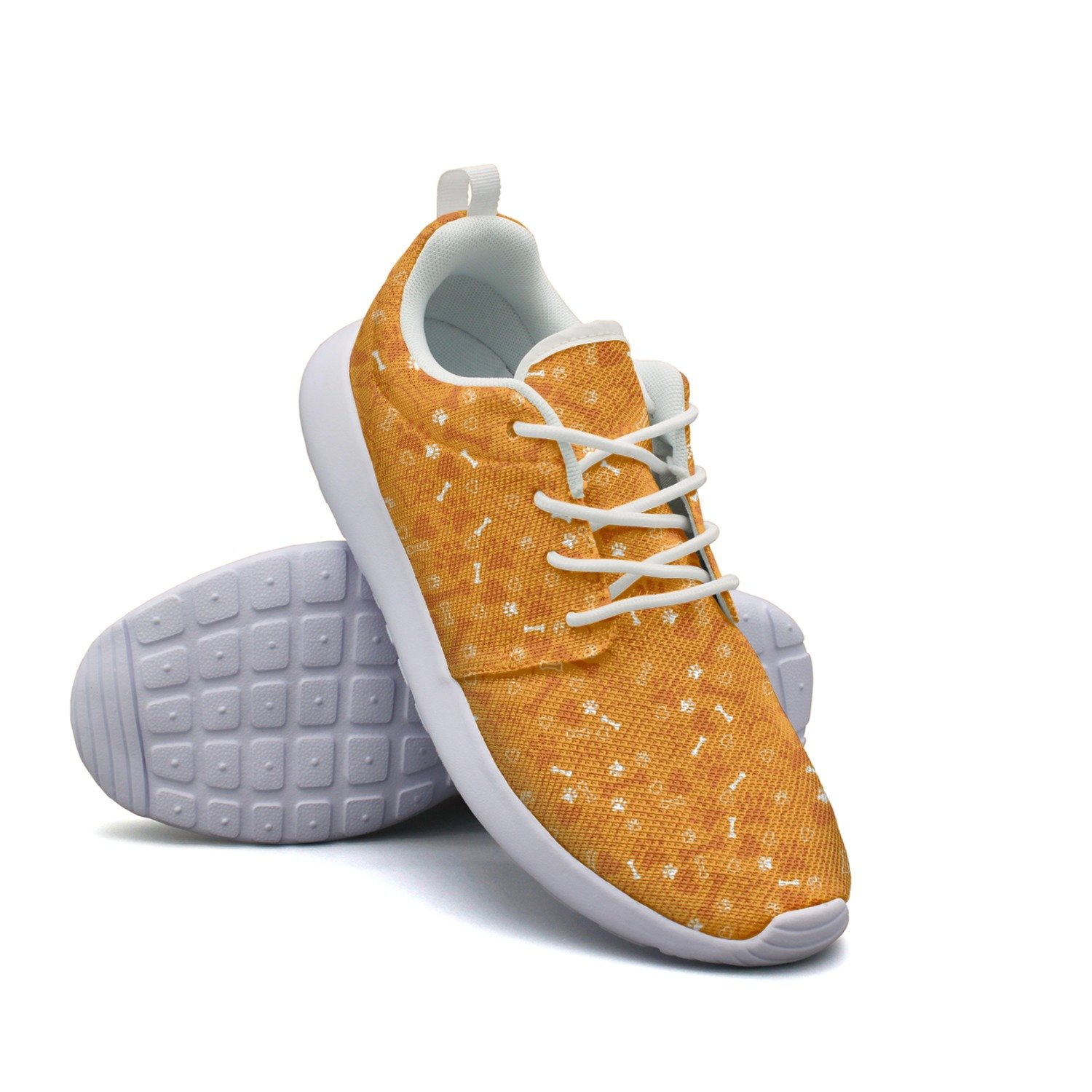 FUFGT Dog Paw Print Woman New Fashion Running Shoes Unique Active