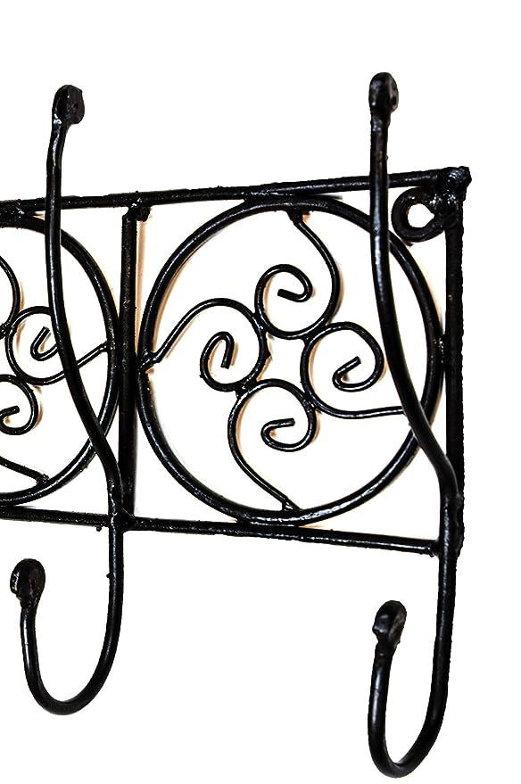 Vintage perchero gancho negro djaffa 60 cm Grande 6 | gancho ...