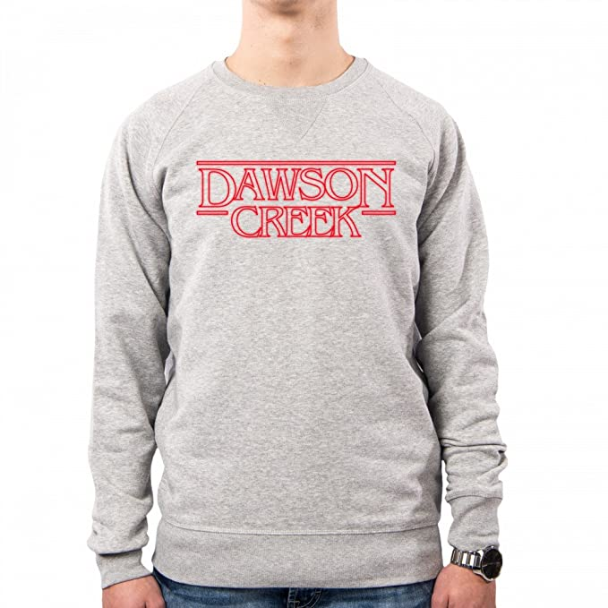 PacDesign Sudadera Hombre Stranger Things Serie TV Dawson Creek Anni 80 80s Pd0027a: Amazon.es: Ropa y accesorios