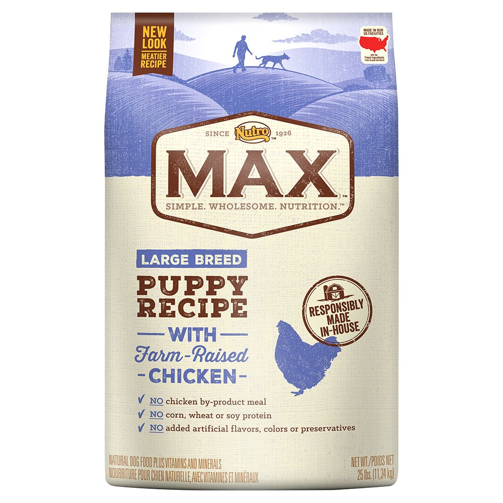 Nutro Max Large Breed Puppy Dry Dog Food With Farm Raised Chicken