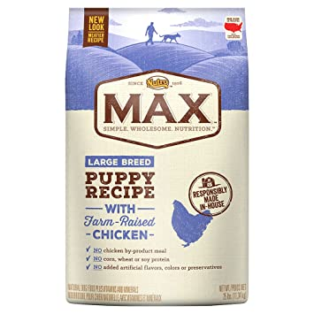 Buy Nutro Max Large Breed Puppy Recipe With Farm Raised Chicken