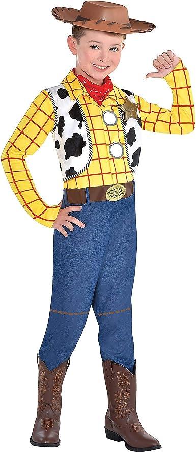 SUIT YOURSELF Disfraz de Woody de Toy Story para niños pequeños ...