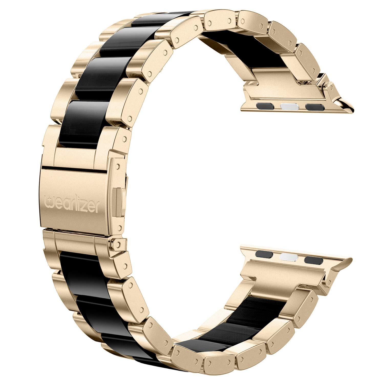 Malla Acero Para Apple Watch (38/40mm) Wearlizer [7vml73pn]