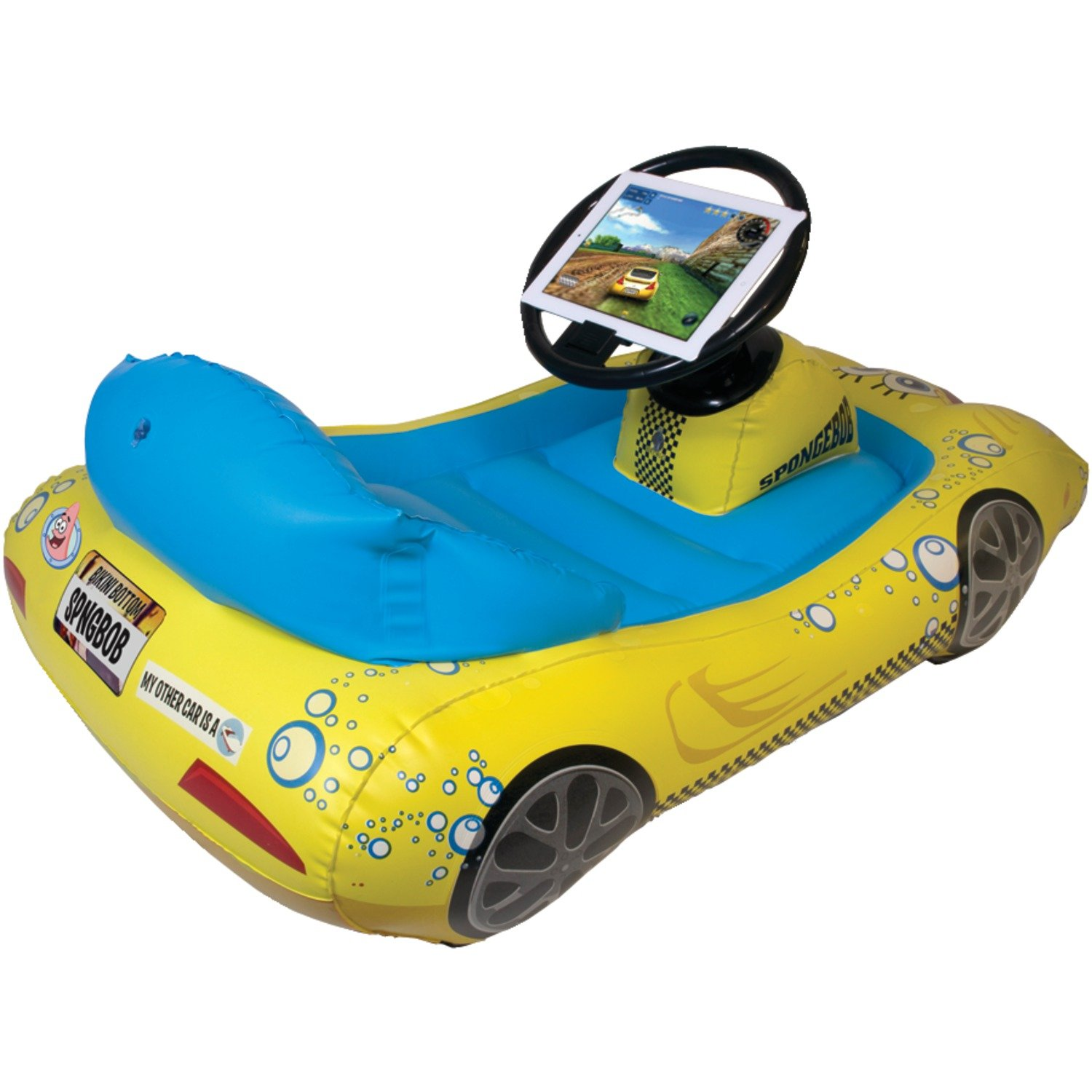 SpongeBob SquarePants Inflatable Sports Car for iPad by CTA Digital