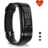 moreFit Heart Rate Monitor, Dare Activity Fitness Tracker Watch with 14 Sports Mode, Wireless Smart Bracelet as Pedometer Calorie Counter and Sleep Tracker for Kids Women Men