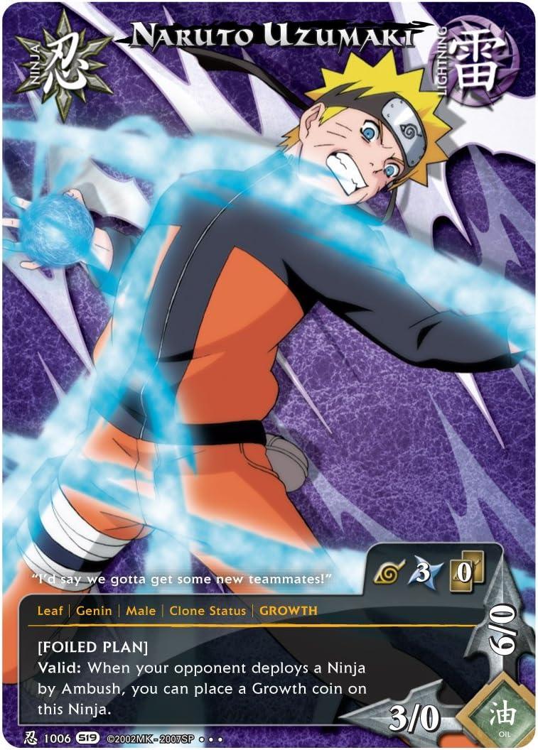 Amazon.com: Naruto Shippuden camino de dolor baraja diseño ...