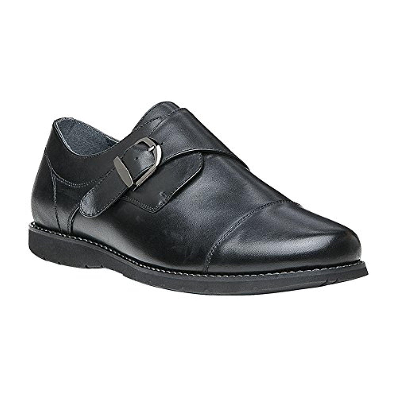 Propet Men's Graham Shoe & Oxy Cleaner Bundle 9 E US|Black