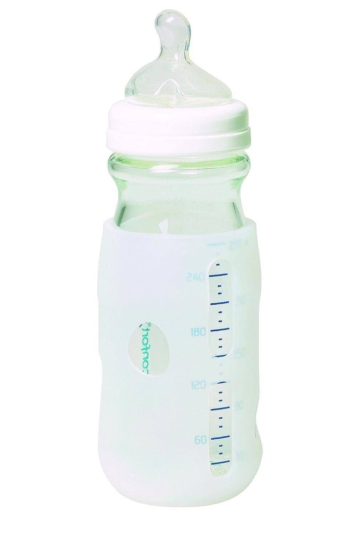 B/éb/é Confort Protection Silicone pour Biberon Verre Natural Comfort 270 ml
