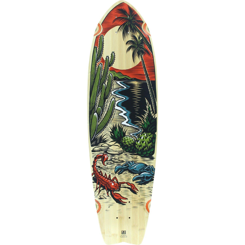 【日本限定モデル】 Globe Skateboard Chromantic砂漠Tropic Amber Longboard 33 Skateboard Deck – Longboard 9.75