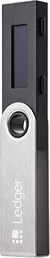 Ledger Nano S - The Best Crypto Hardware Wallet - Secure and Manage Your Bitcoin, Ethereum, ERC20 and Many Other Coins