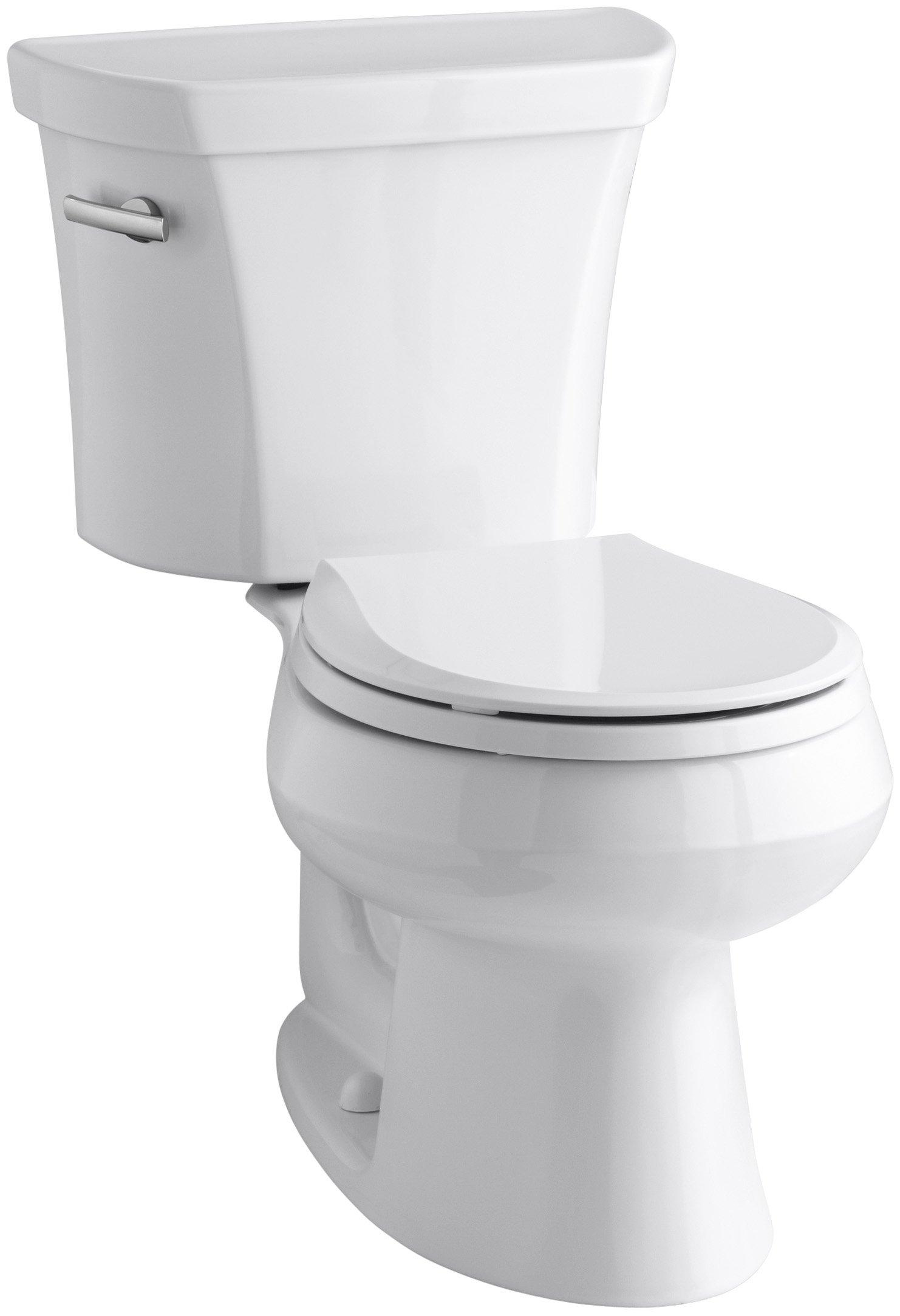 Kohler K-3997-0 Wellworth Round-Front 1.28 gpf Toilet, White by Kohler