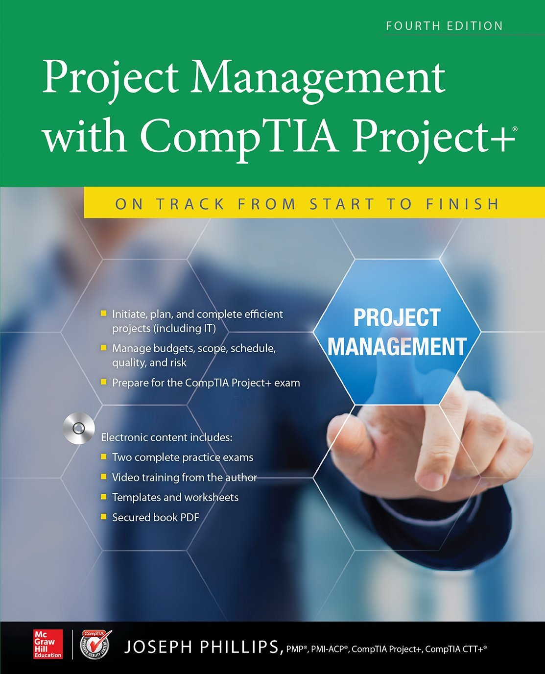 Project management with comptia project on track from start to project management with comptia project on track from start to finish fourth edition joseph phillips 9781259860300 books amazon xflitez Image collections