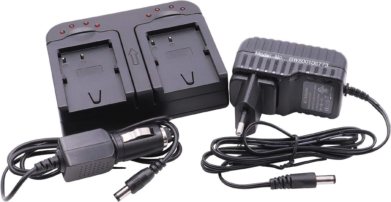 Vhbw Schnellladegerät Ladegerät Ladeschale Dual 2 Fach Elektronik